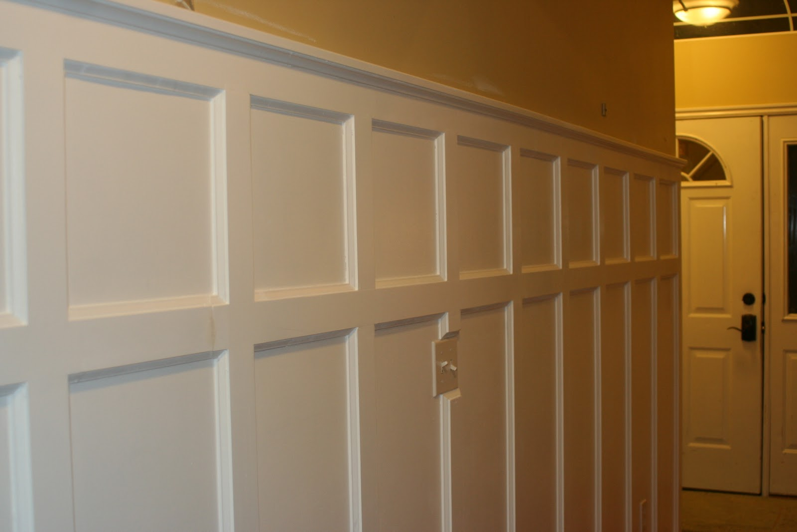 Tall Paneled Installing Wainscoting Correctly