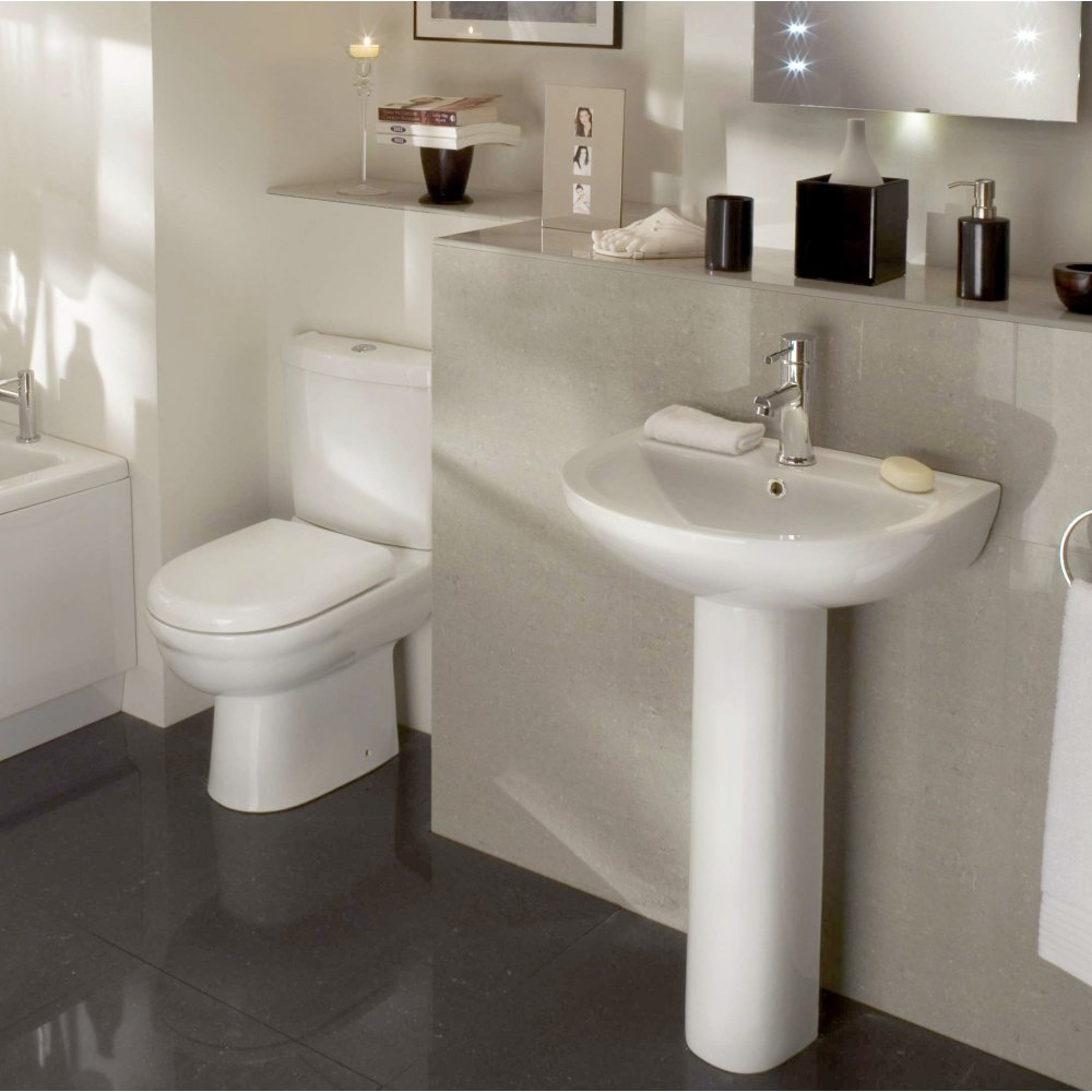 Stunning bathroom vanity for small space design ideas for Toilet ideas for small spaces