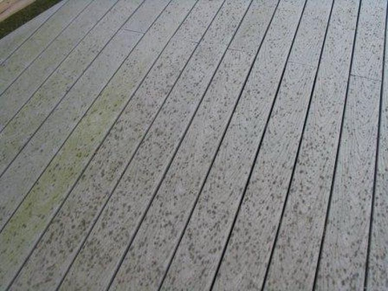 Trex Stain Decking Problems