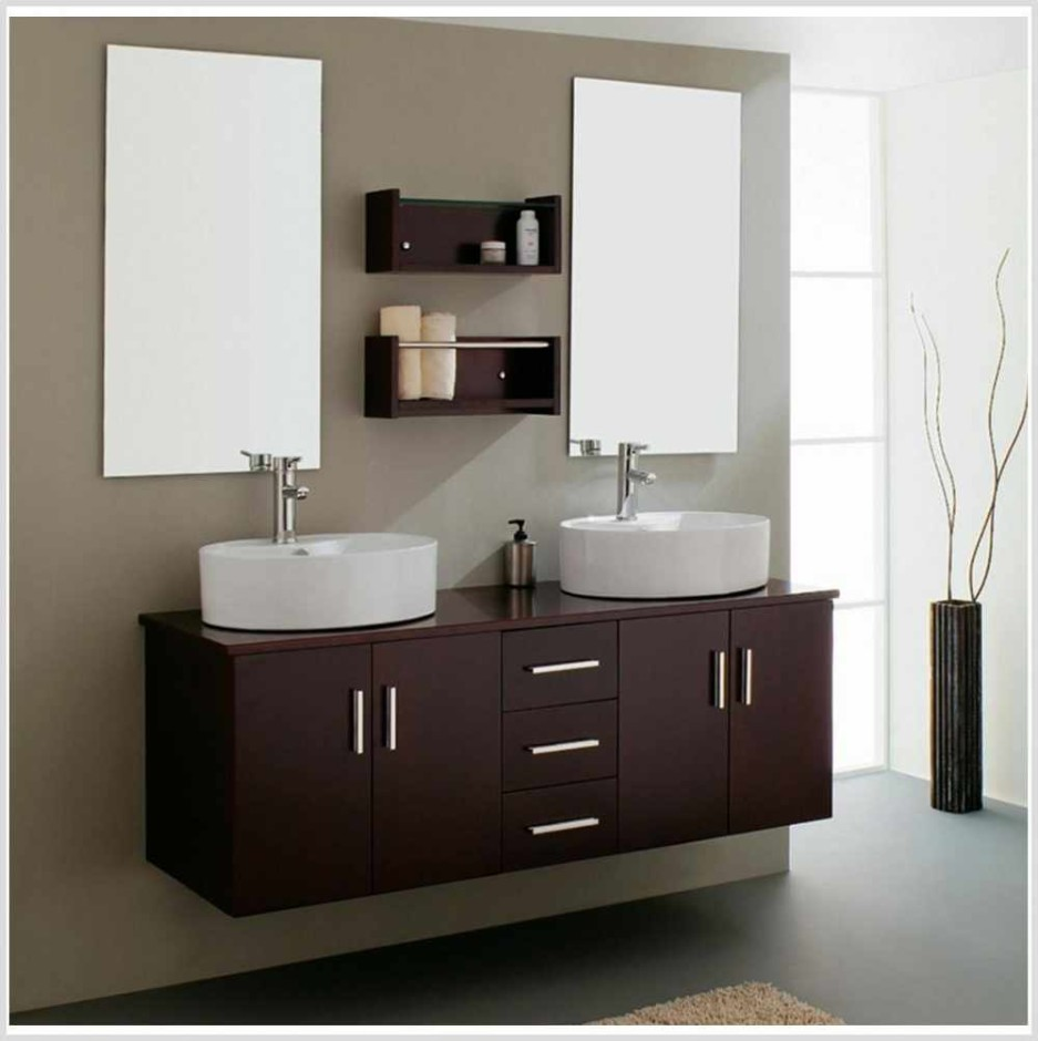 Twin IKEA Bathroom Vanity Ideas Designs