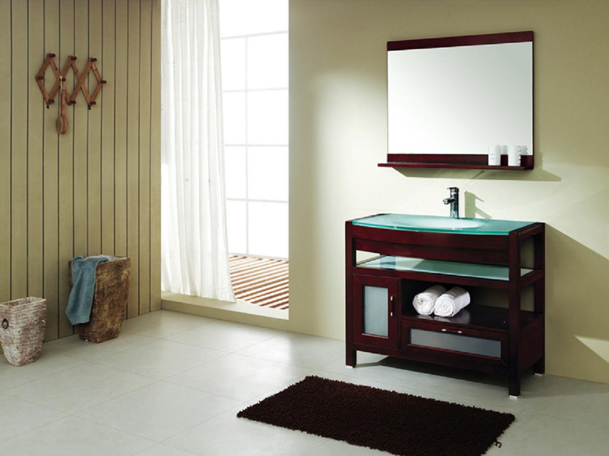 Wooden IKEA Bathroom Vanity Ideas Designs