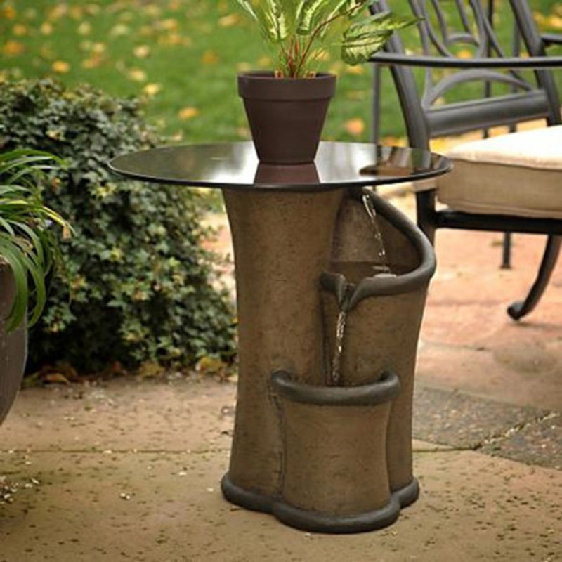 Zen Fountain Contemporary Garden Furniture