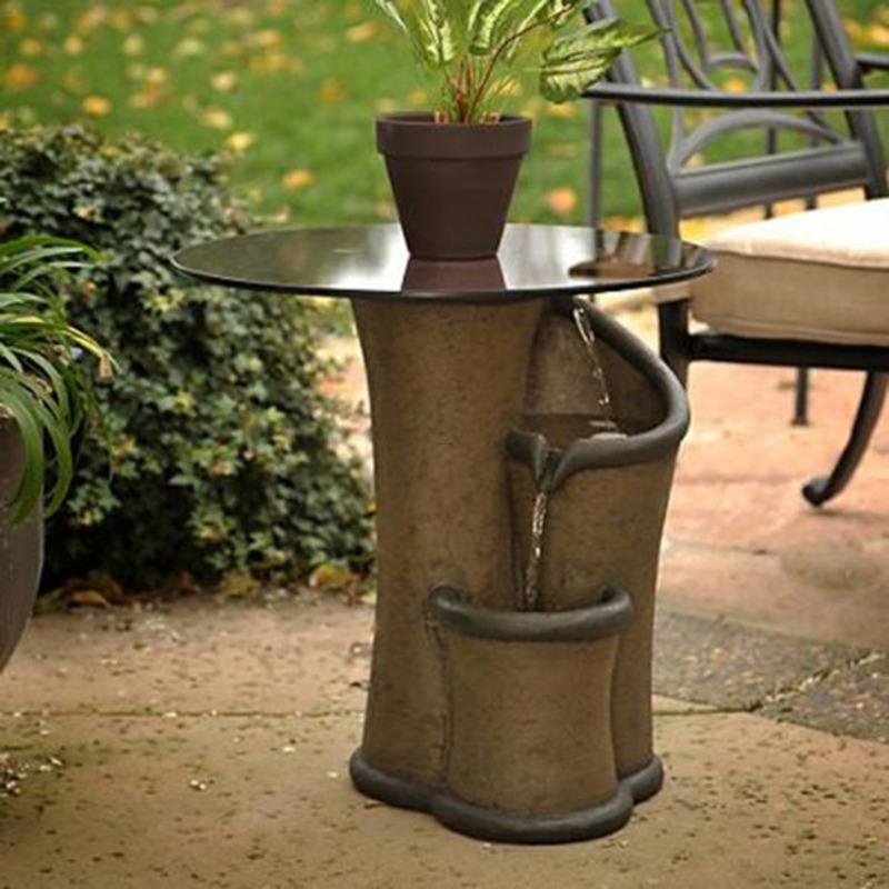 Zen Fountain Contemporary Garden Furniture (Photo 167 of 7746)