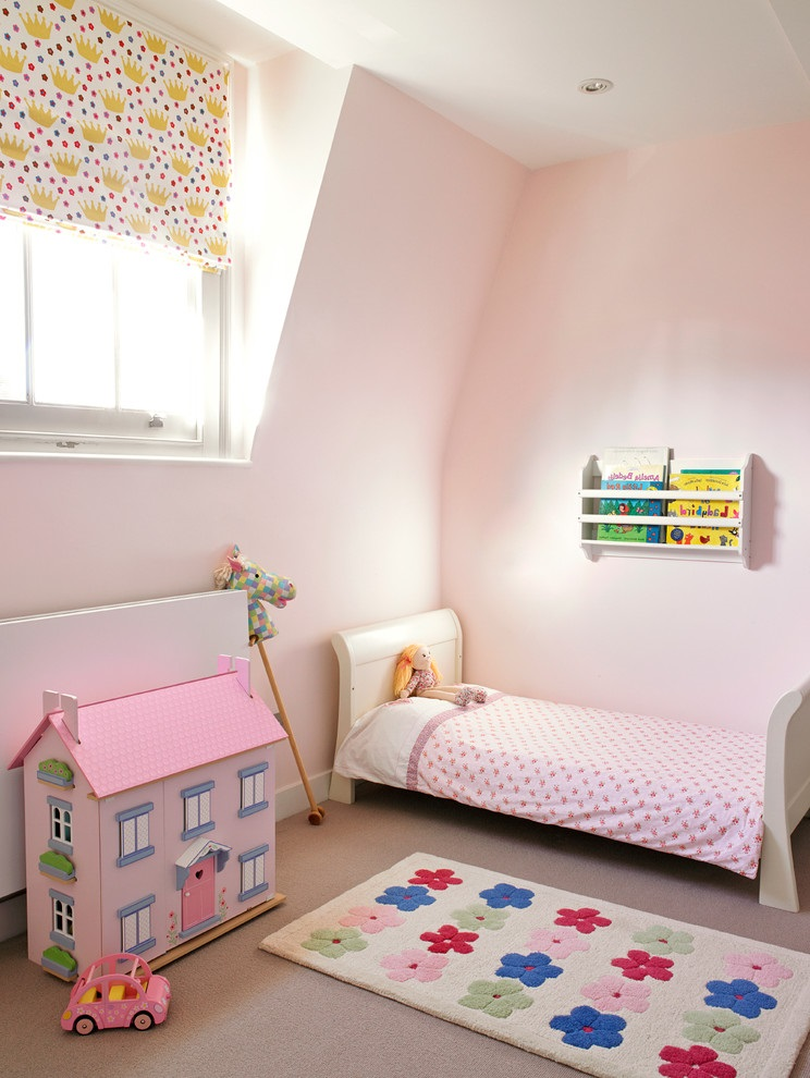 Attic Remodel to Girl Bedroom