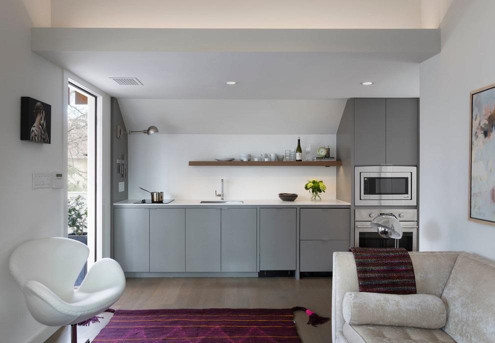 Basic Apartment Kitchen Design (View 14 of 16)