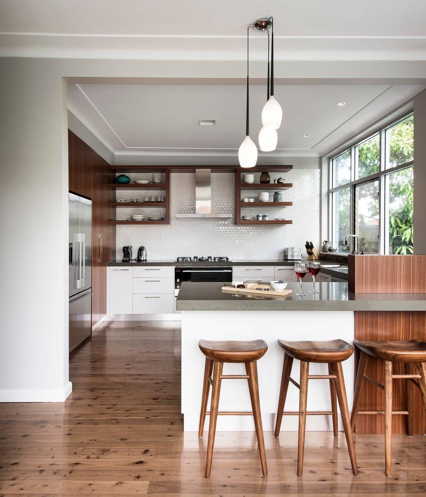 Basic Contemporary Kitchen Furniture Decor