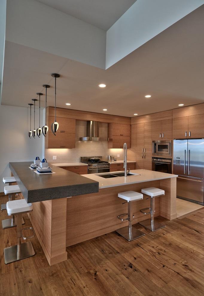 Basic Modern Kitchen Design (Image 6 of 16)