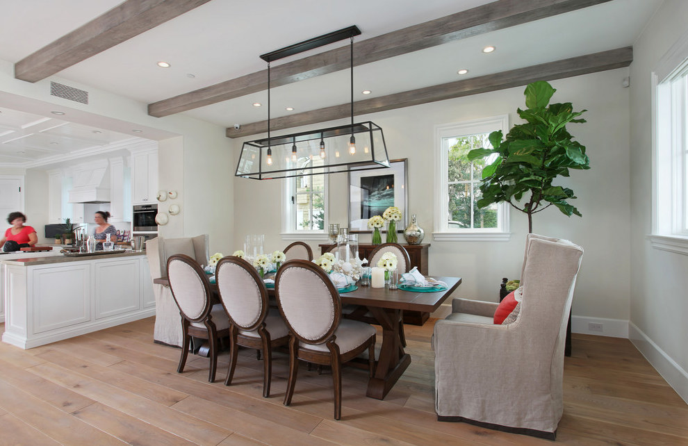 Beach Style Dining Room Lighting (Image 3 of 19)