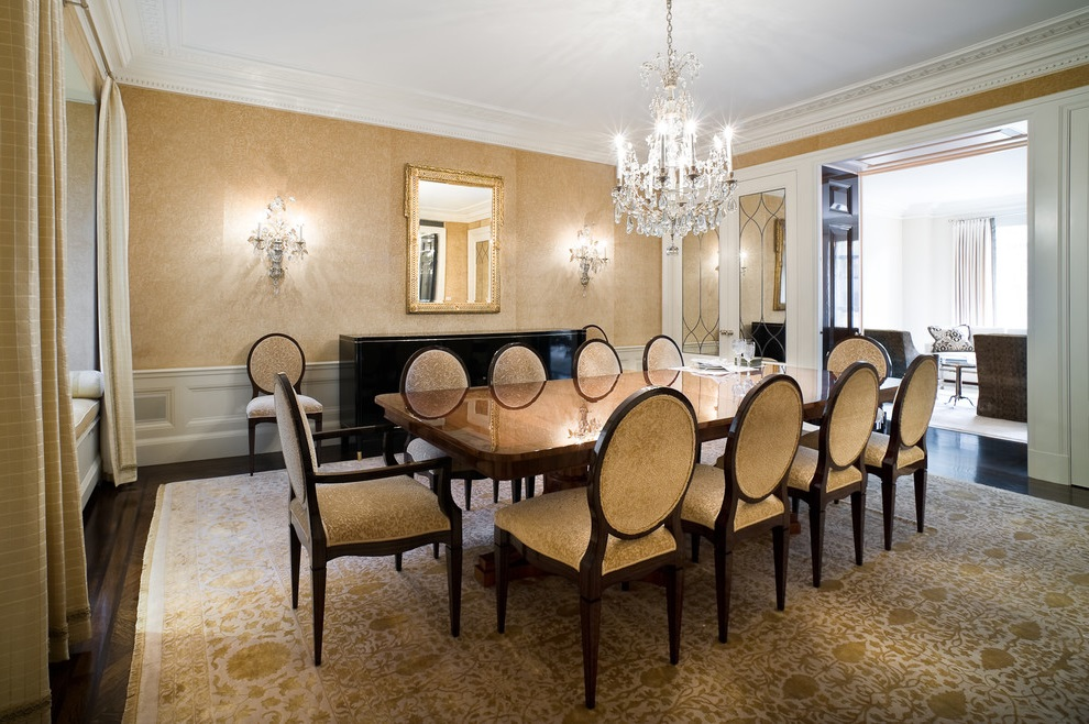 Country Dining Room In Formal Nuance (View 11 of 17)