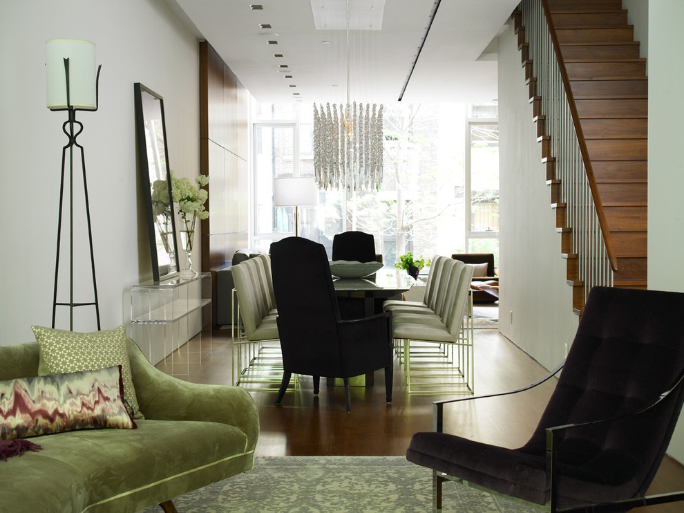 Formal Living Room and Dining Room Combination