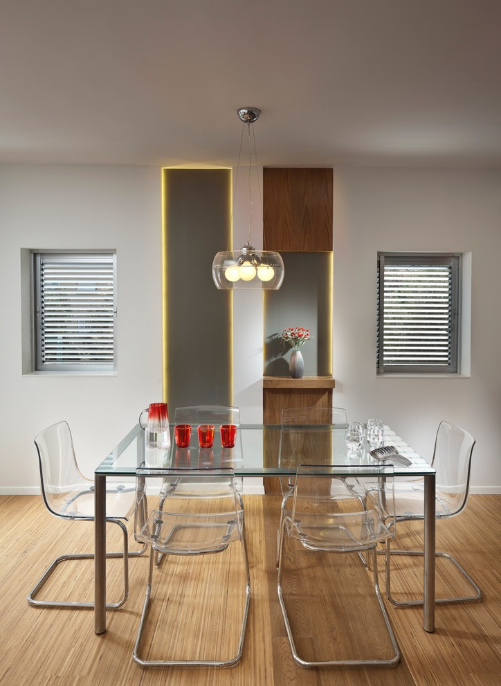 Glass Dining Room Furniture For Modern Interior (Image 9 of 18)