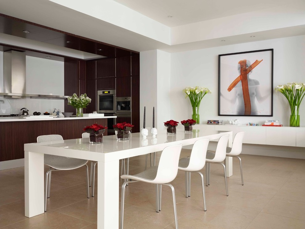 Latest Dining Room Furniture For Contemporary Design (View 12 of 18)