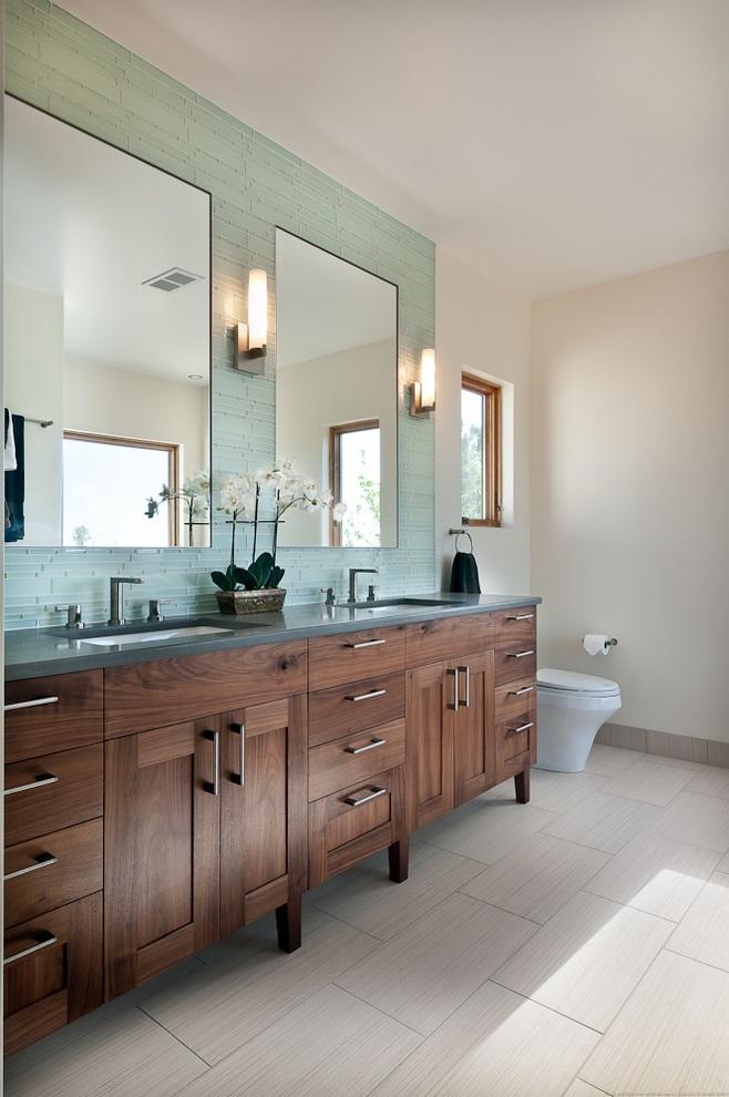 Modern Bathroom Vanity Furniture (Image 12 of 17)