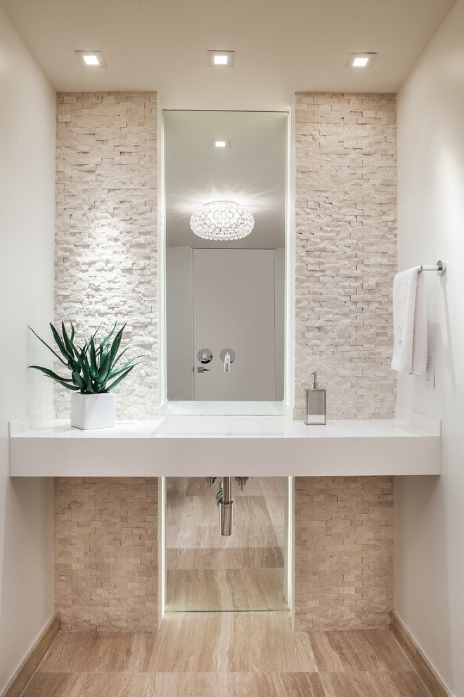 Ocean Inspired Contemporary Bathroom Vanities (View 11 of 16)