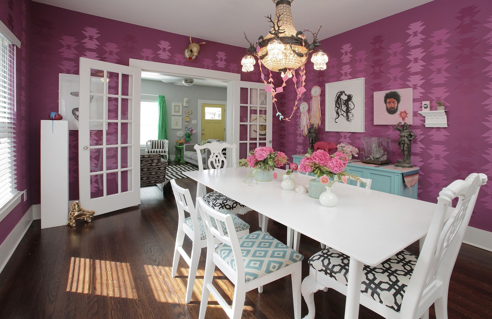 Shabby Chic Dining Room Furniture For Classic Model (Image 13 of 18)