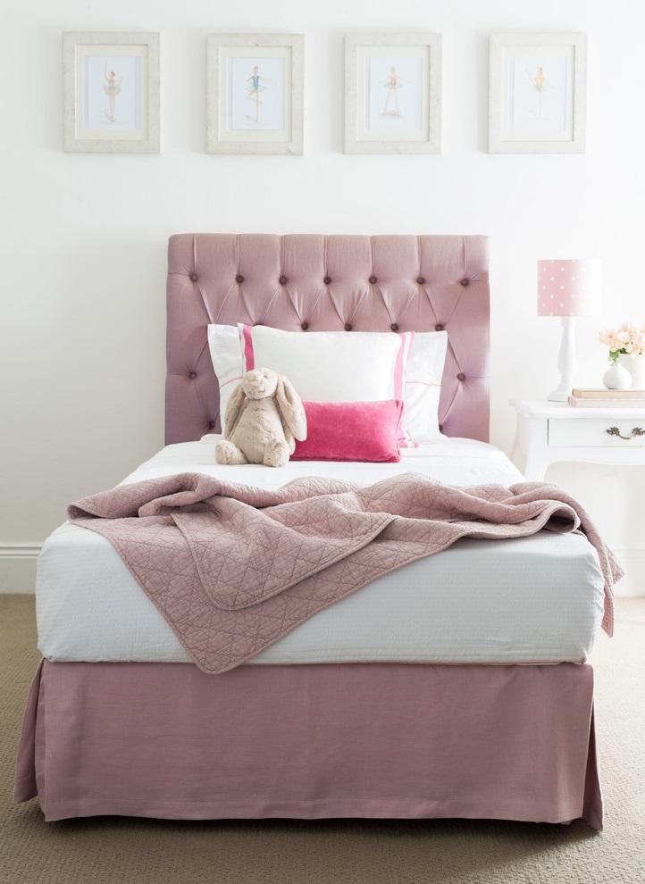 Simple Minimalist Girl Bedroom