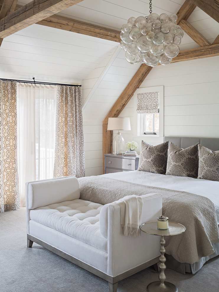 Traditional Bedroom In White Theme (View 22 of 22)