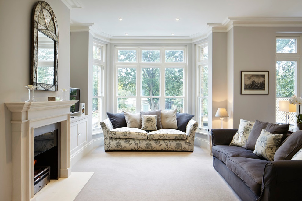 Traditional Living Room Remodel to Formal Nuance