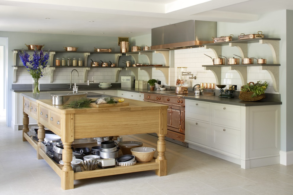 Transitional Victorian Kitchen (Image 13 of 18)