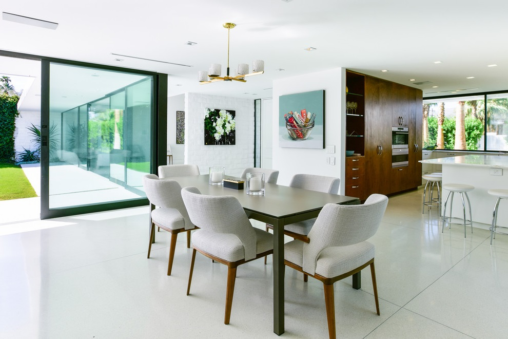 Beautiful Dining Room Table In Wood And Glass (Image 1 of 19)