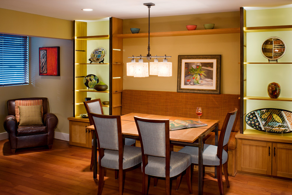 Asian Dining Room Style For Romantic Nuance (Image 1 of 9)