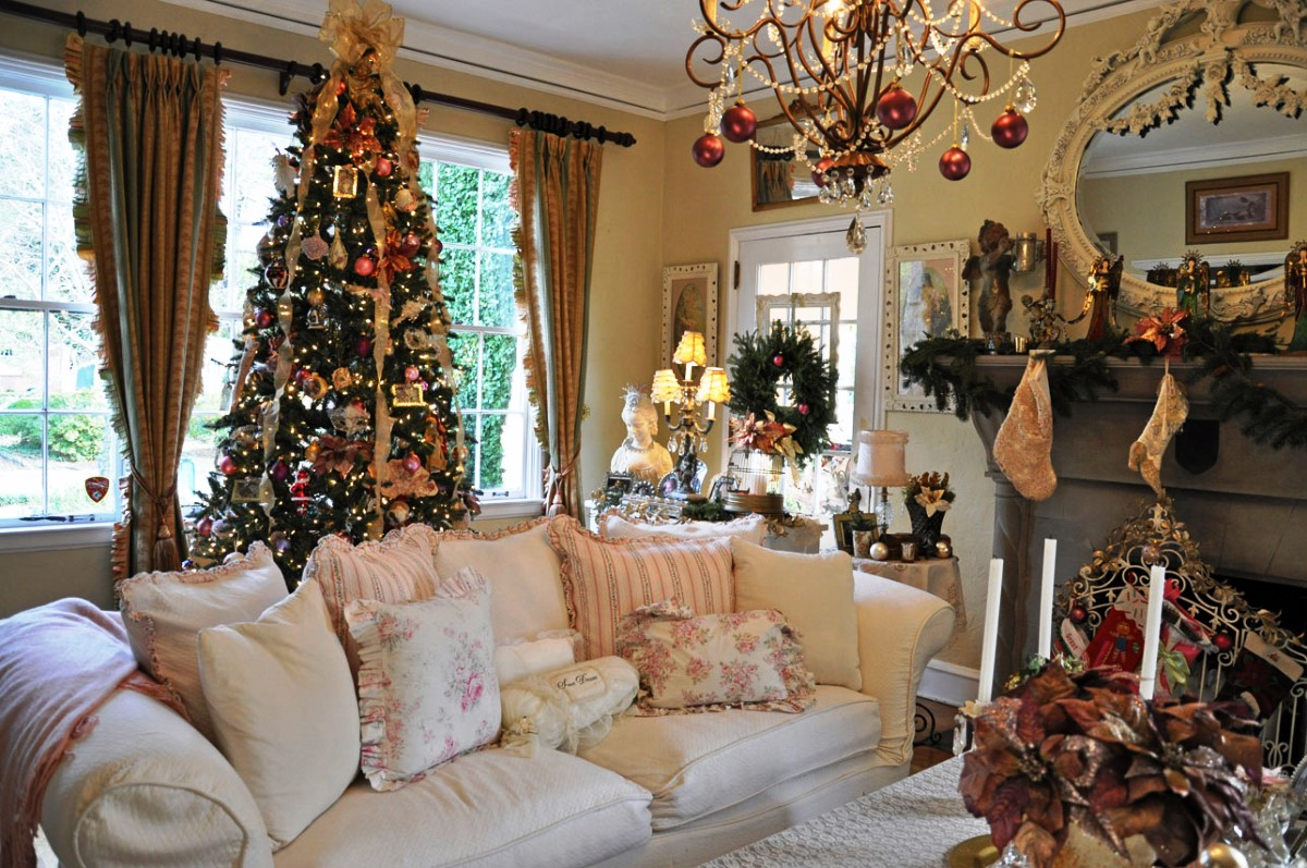 christmas decorations ideas for living room affordable best