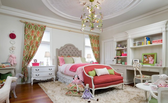 Victorian Childrens Bedroom Interior Style