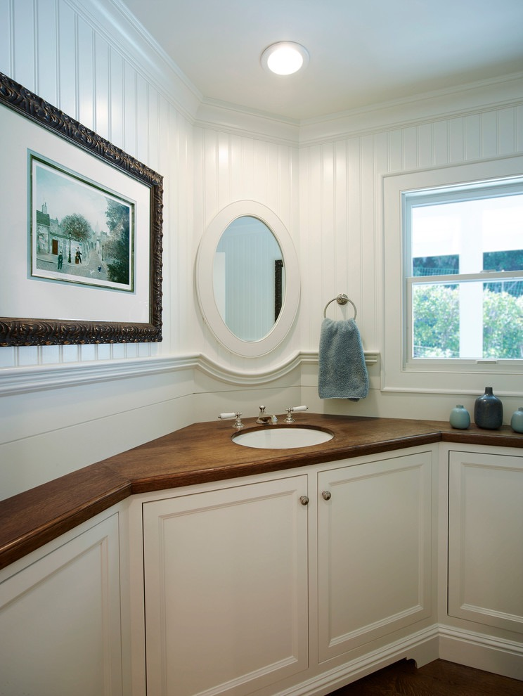 Corner Bathroom Sink with Cabinets