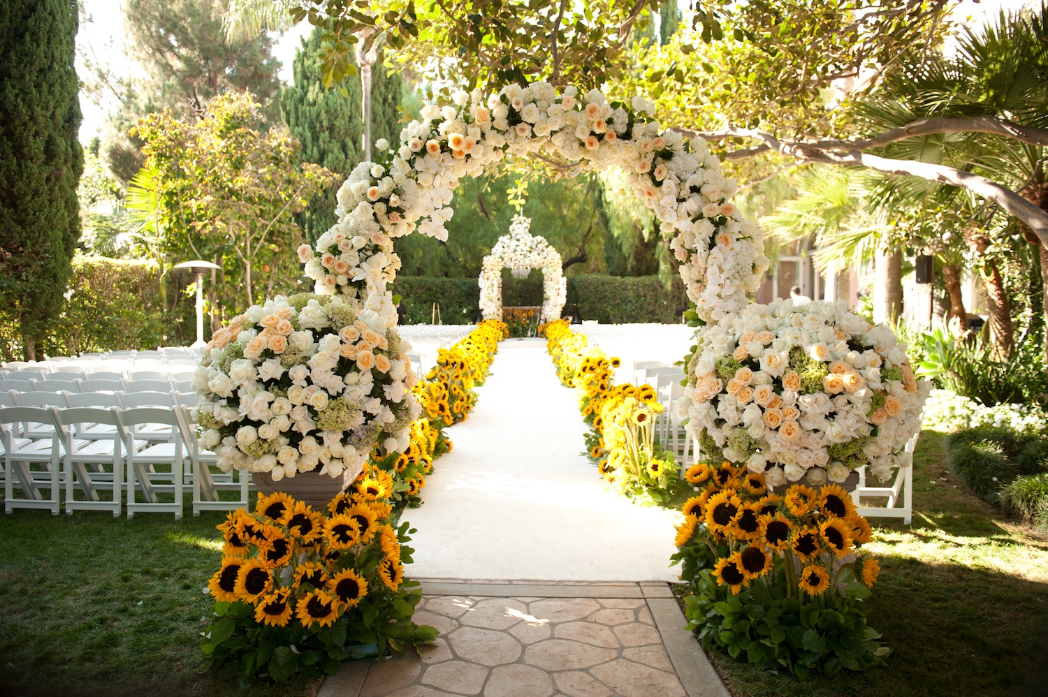 Garden Wedding Ceremony Decor (View 11 of 15)