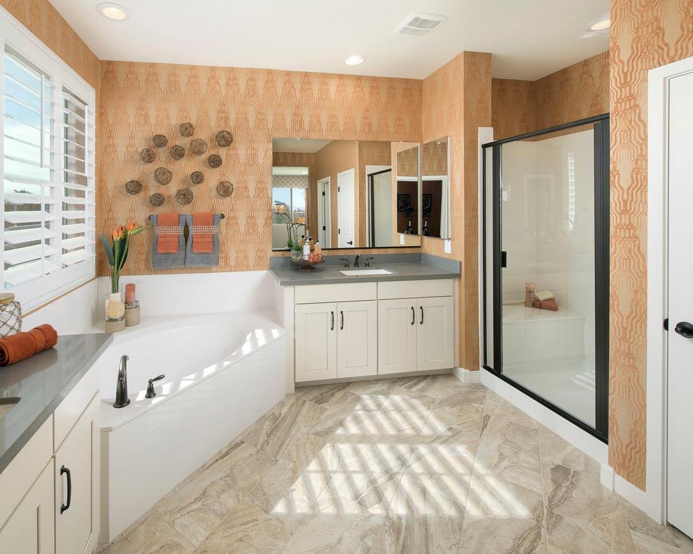 Modern Bathroom Plan with Free Software