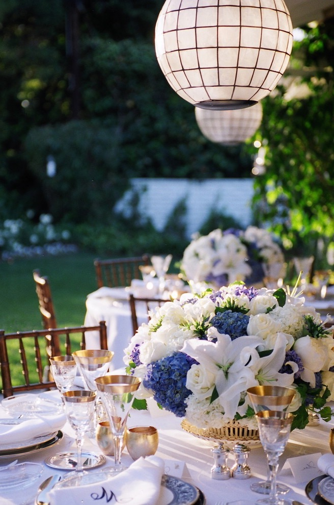 Shabby Chic Wedding Garden Ornament (Image 10 of 15)