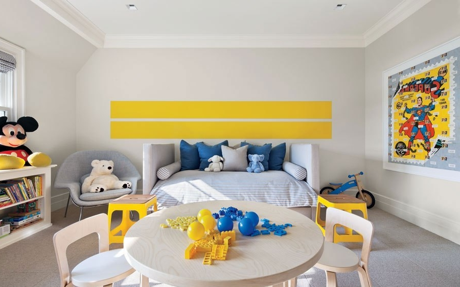 Attractive Superhero Wall Art Mixed With Mesmerizing Daybed In ...