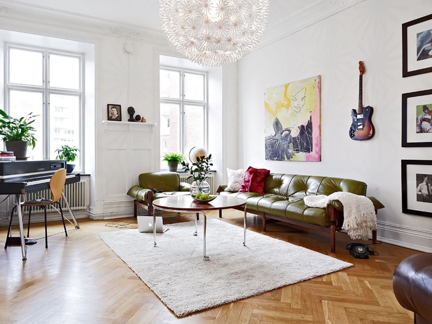 An Earthy Bohemian Home Is Packed With Terrific Textiles