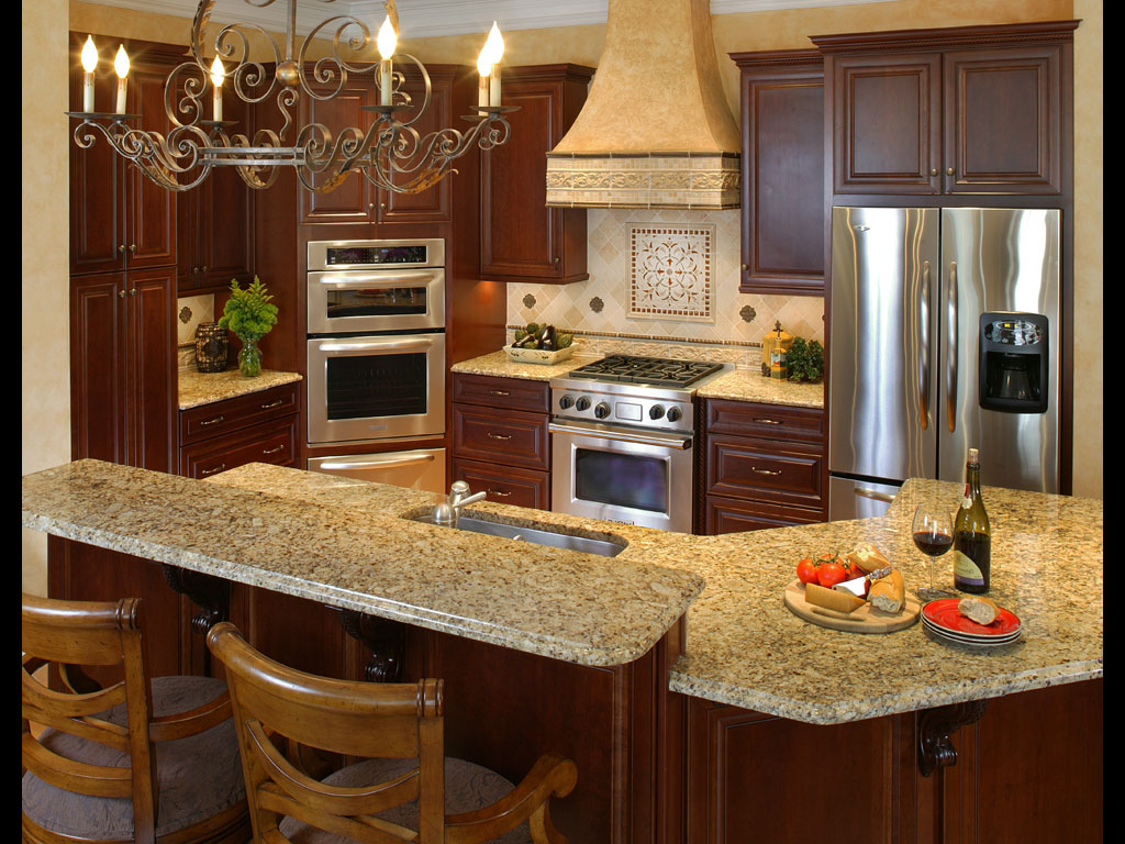 Tuscan Kitchen Island Designs