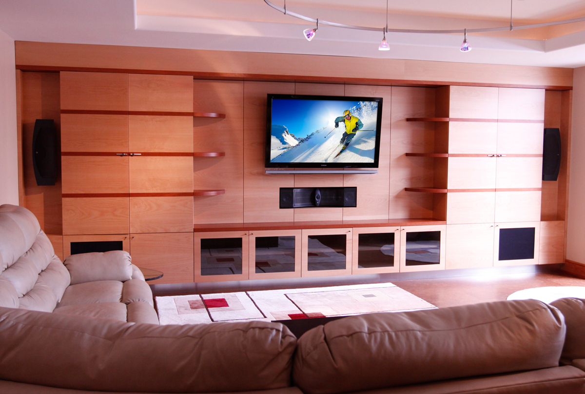 Awe Inspiring Living Room Entertainment Centers Wall Units Built In Custom Largest Home Design Picture Inspirations Pitcheantrous