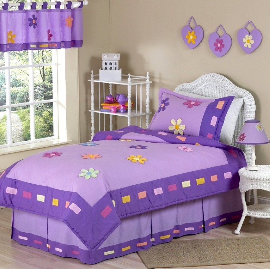contemporary kids bedding with floral print idea and bedroom  - contemporary kids bedding with floral print idea and bedroom window valancefeat white wicker headboard design