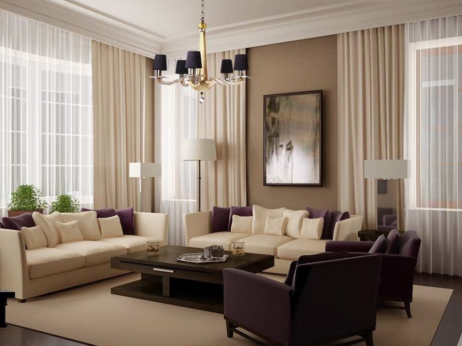 Cool White Floor Lamp Shades With Two Tone Brown Living Room Set Colors  Decor Plus Gold Part 38