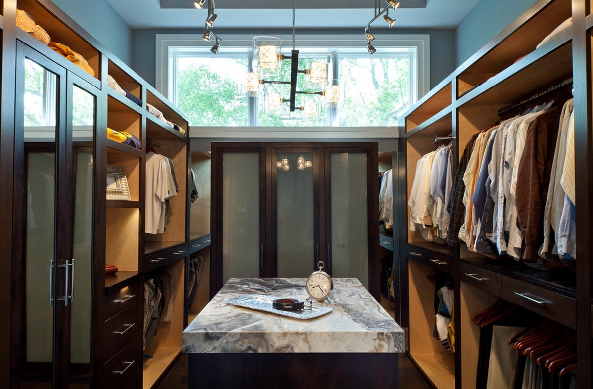 closet track lighting. marble island table design plus beautiful skylight and unique closet track lighting also glass storage door