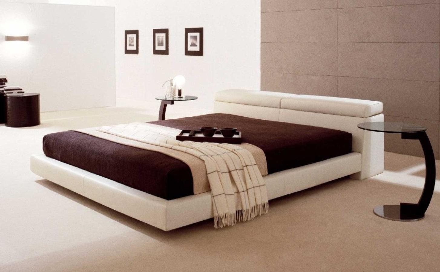 Popular 177 list modern floating bed for Modern floating bed