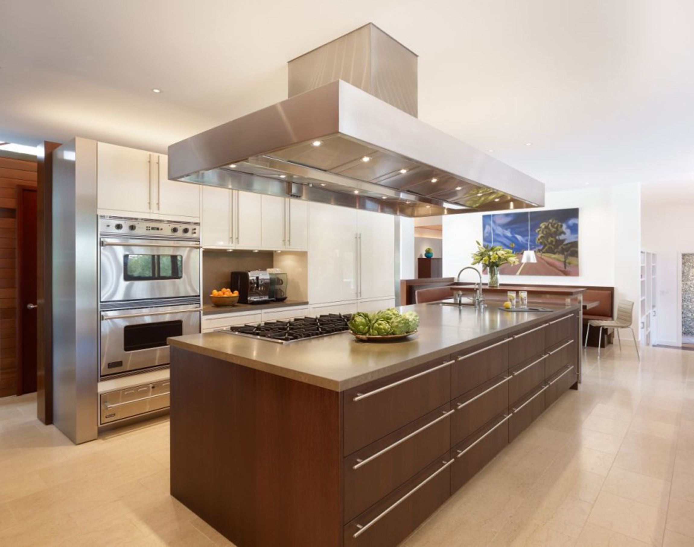 Kitchen Design Island With Aspirator Awesome Decorations With Cute Plan (View 1 of 31)