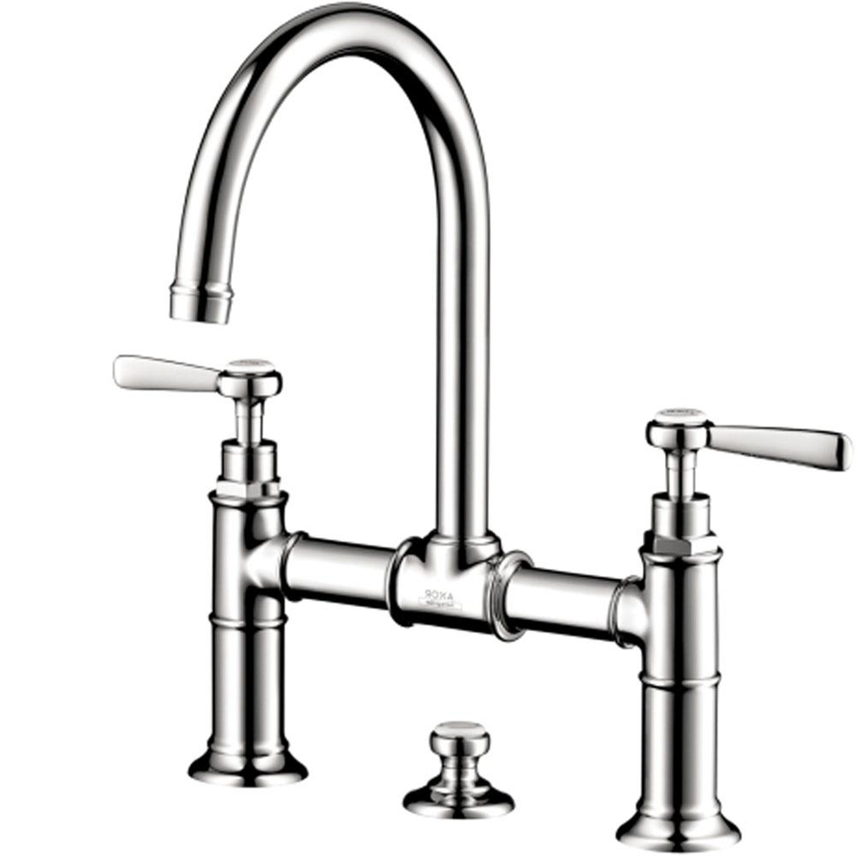 Kitchen Hansgrohe Kitchen Faucet Design Idea In Silver Dazzling Hansgrohe Kitchen Faucet Design Ideas (View 23 of 38)