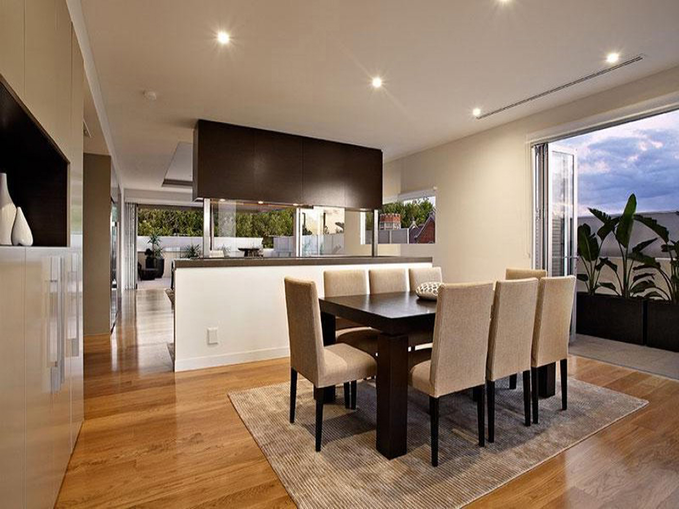 Kitchen Ideas With Open Window Teak Dining Table And Patio (Image 37 of 38)