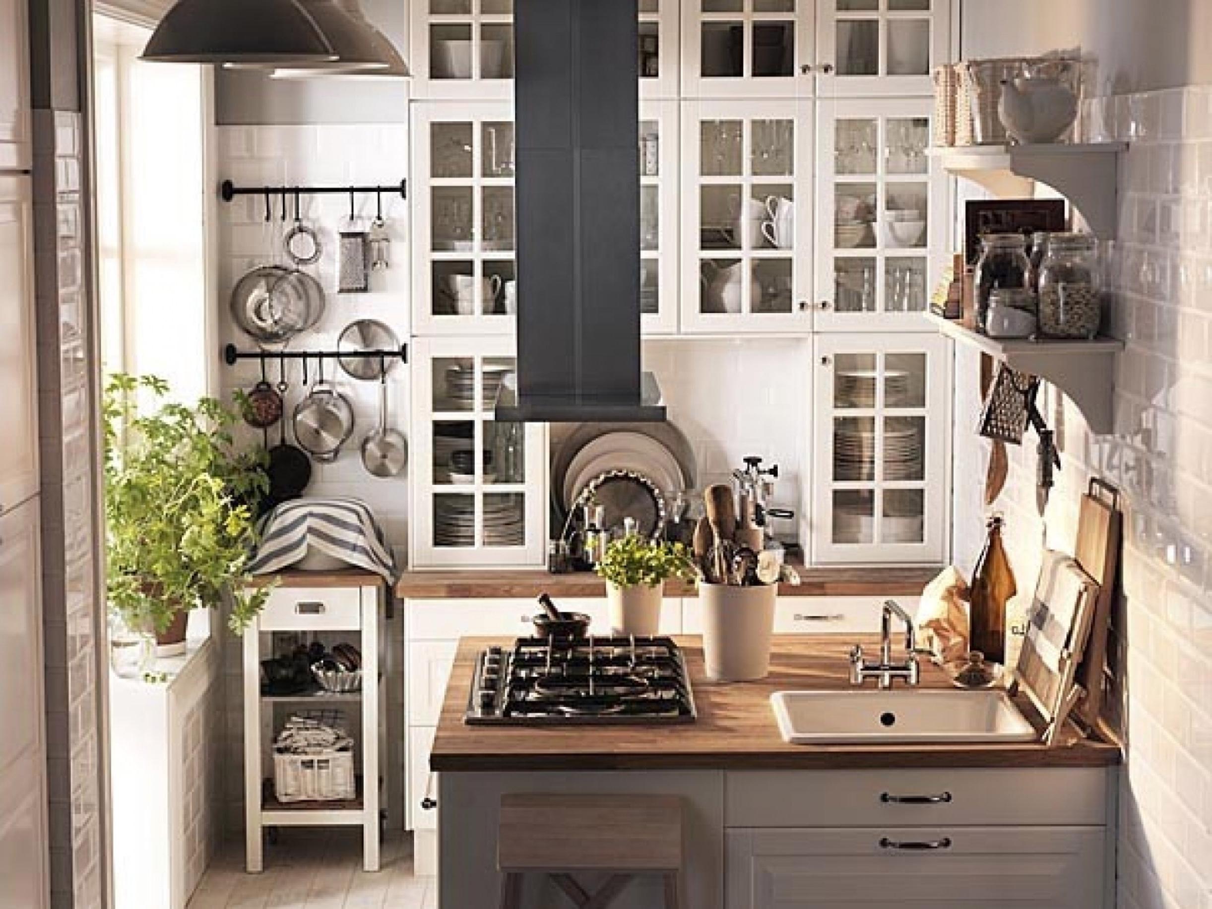 Minimalist Ideas Kitchen Design With Wooden Furniture And White Color Scheme Ideas Minimalist Kitchen Design (View 7 of 25)