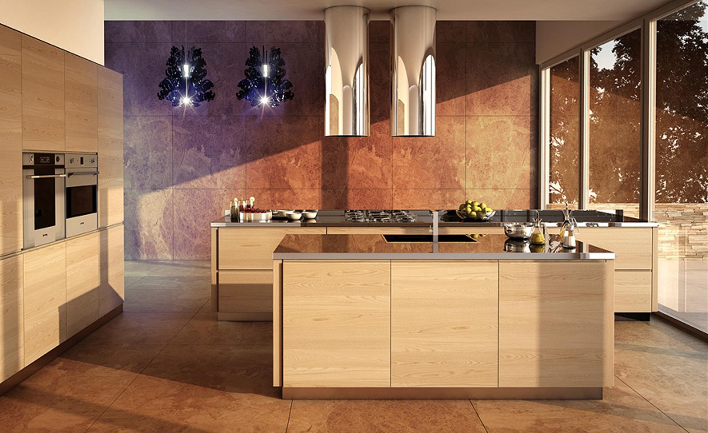 Modern Kitchen Fancy Lighting (View 11 of 31)