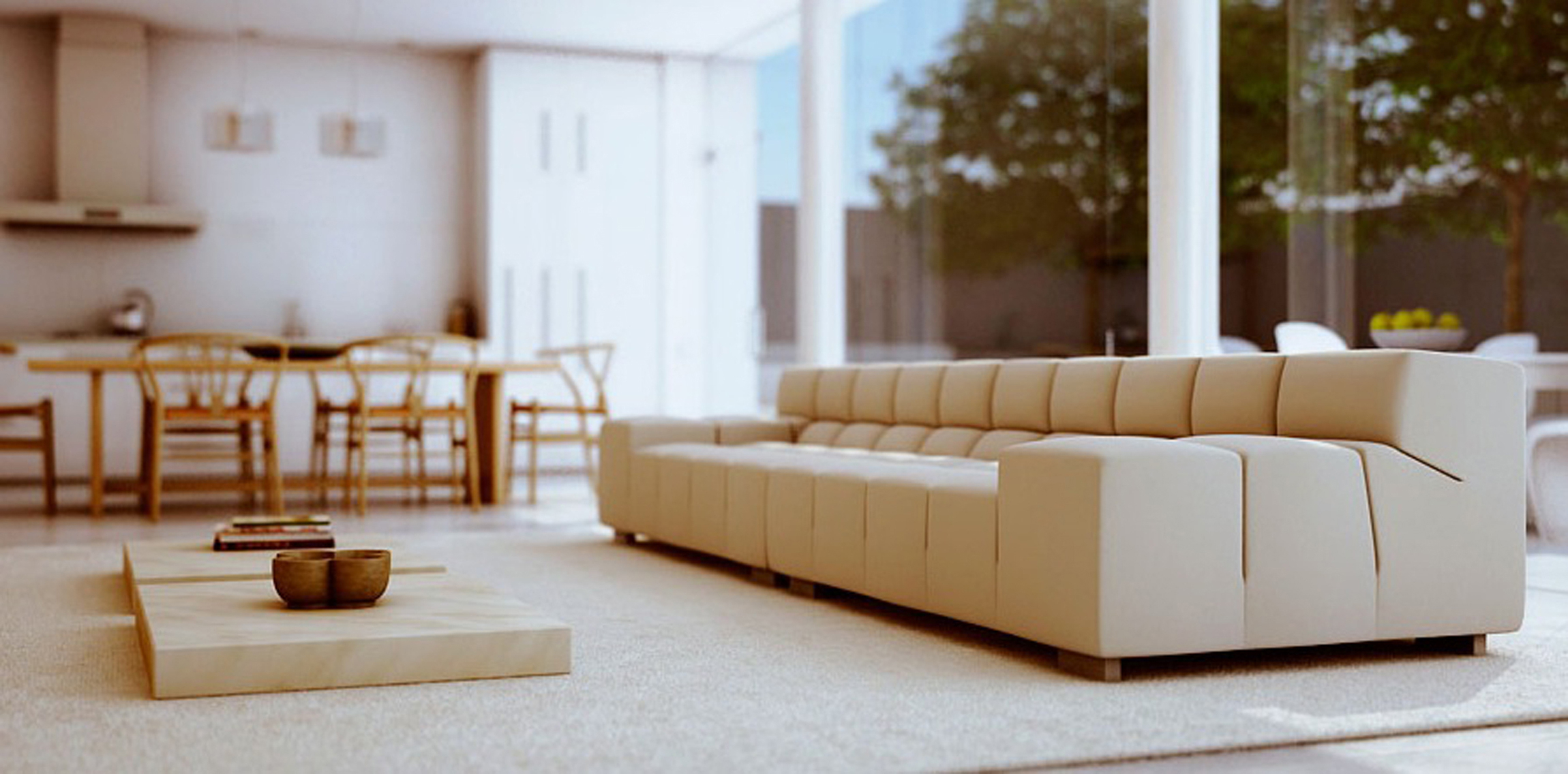 Modern Living Room Couch (Image 1 of 30)