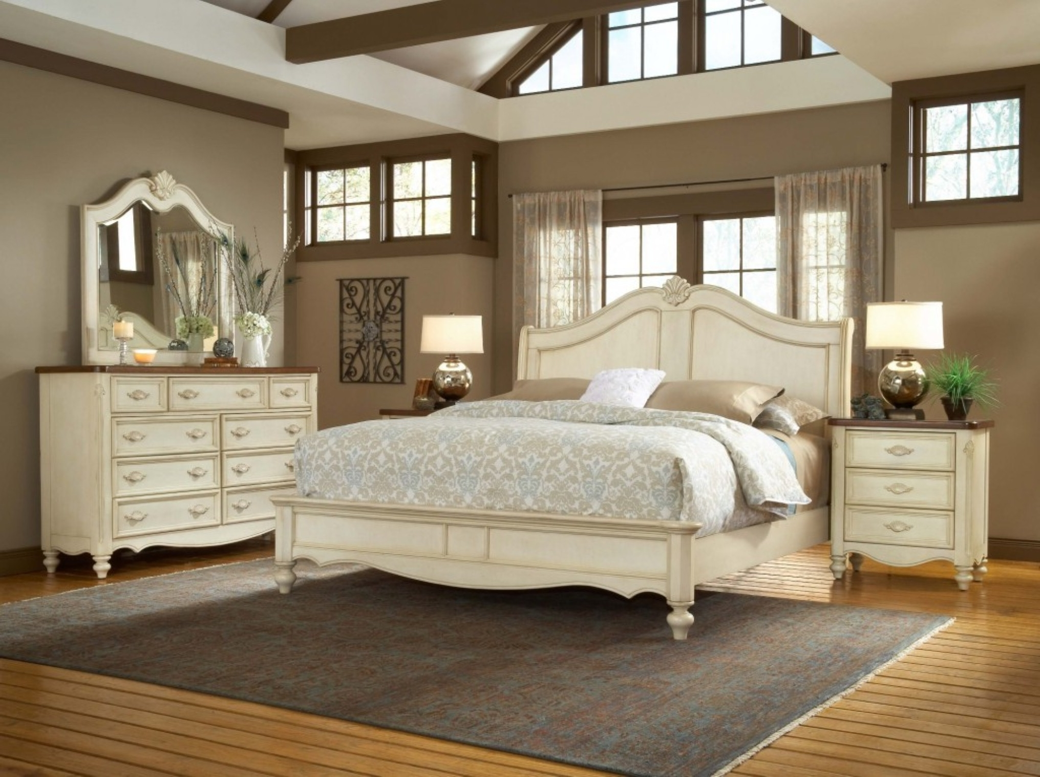 Neat Inspirational Bedroom Furniture Custom Home Design