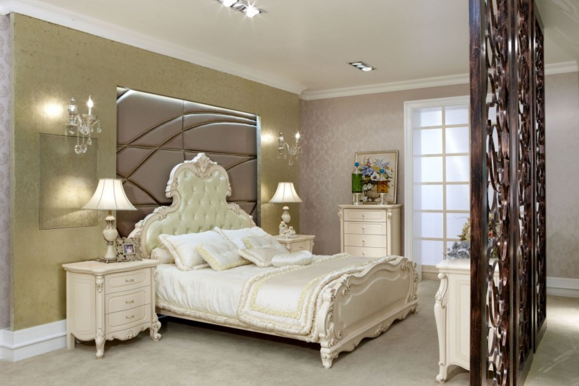 Neat Inspirational Cream Furniture As Fitted Bedroom Furniture For Divine Design Ideas Of Great Creation With Innovative Bedroom (Image 9 of 21)