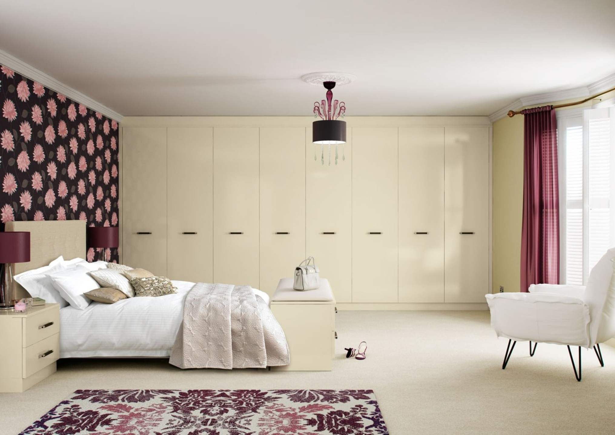 Neat Inspirational Cream Furniture As Fitted Bedroom Furniture With Various Examples Of Best Decoration Of Bedroom To The Inspiration Design Ideas (Image 12 of 21)