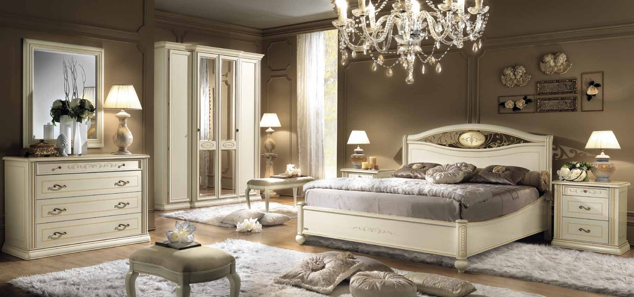 Neat Inspirational Cream Furniture As Modern Bedroom Furniture To The Inspiration Design Ideas With The Best Examples Of The Bedroom (View 3 of 21)
