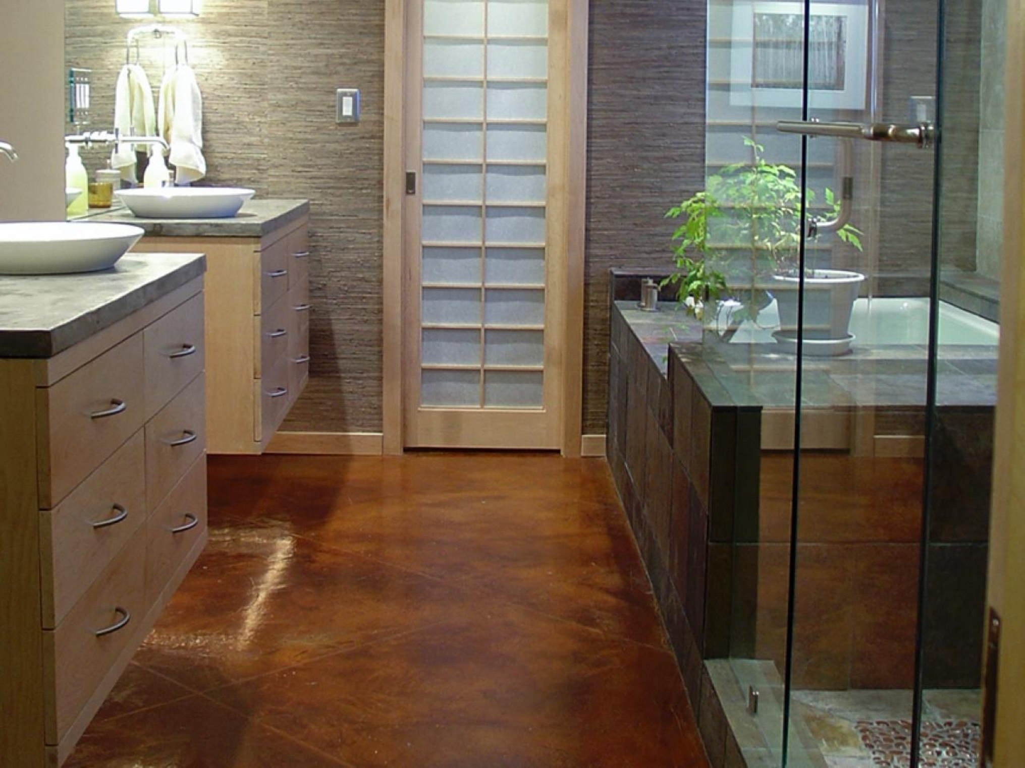 Smart Bathroom Flooring Options And To The Inspiration Bathroom Your Home (Image 10 of 29)